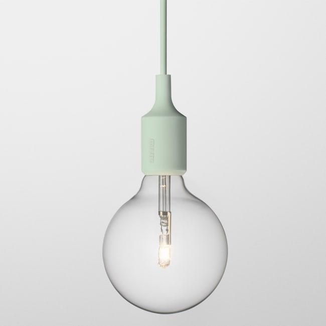 Enormt Muuto E27 lampe lys grønn | Ting FT-99