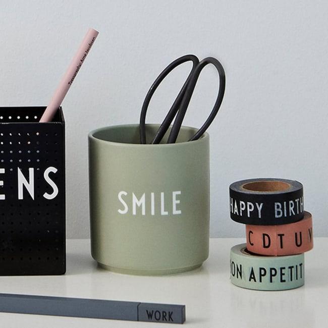 Smarte ressurser design letters kopp favourite cup smile   Ting DI-27