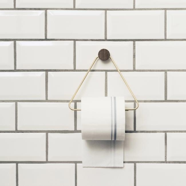 Alvorlig ferm LIVING toalettpapirholder messing | Ting EI-43