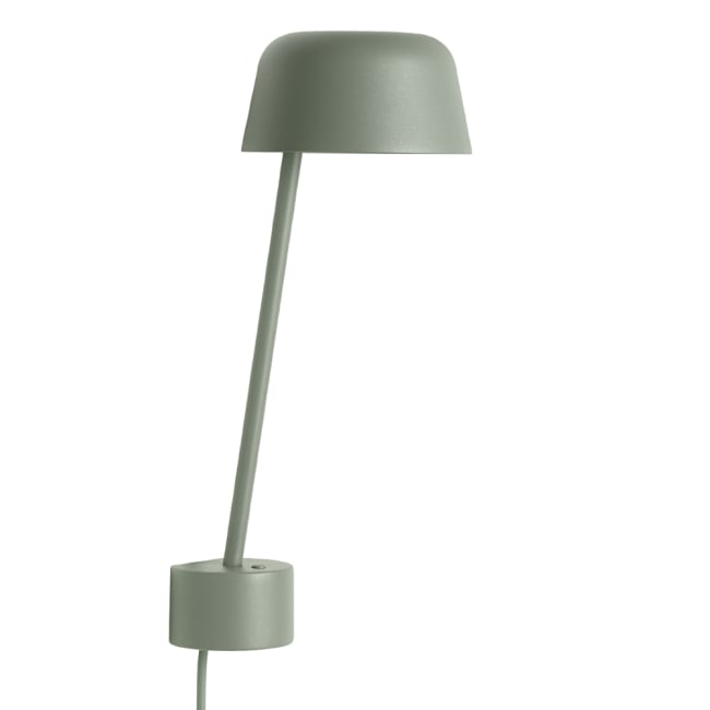 Flott Muuto lampe Lean Dusty Green | Ting LW-44