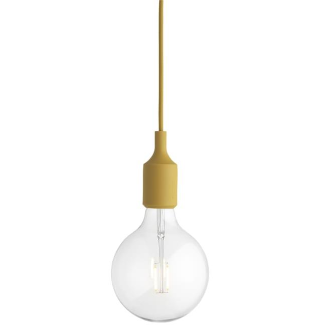 Ypperlig Muuto E27 lampe mustard | Ting RV-33