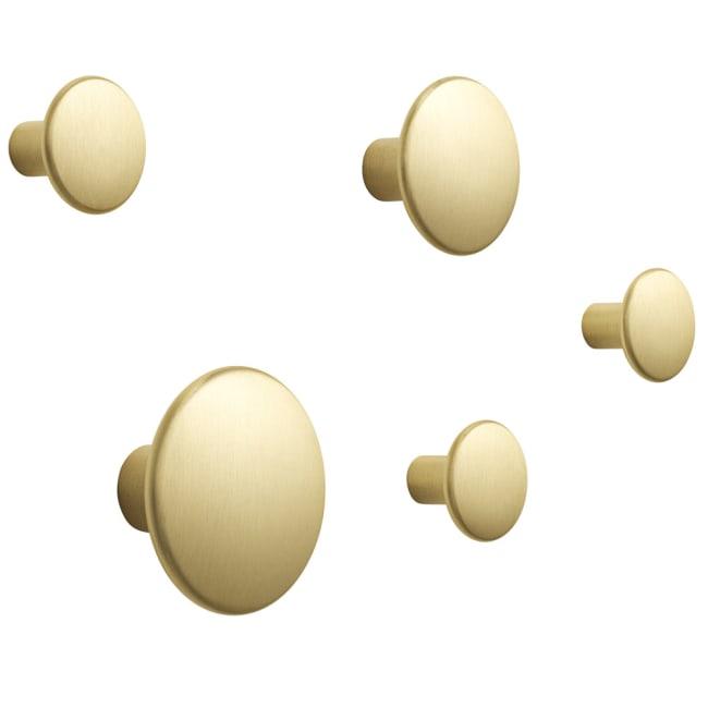 Enorm muuto the dots knagg 5pk messing | Ting PT-58