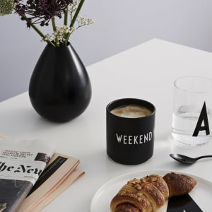 design letters kopp favourite cup weekend