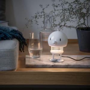 Hoptimist lampe Large Hvit