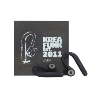 KREAFUNK bGEM black edition Bluethooth in ear headphones
