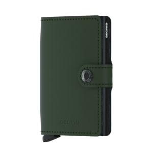 Secrid lommebok Miniwallet green black