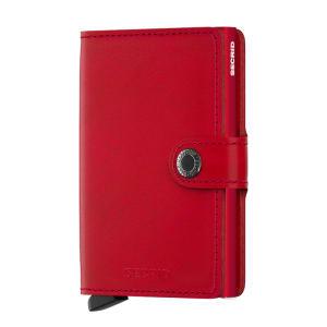 Secrid lommebok miniwallet red