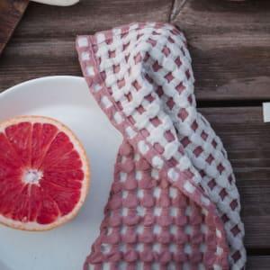 UND Serviett Vaffel Brie/Plomme