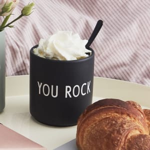 Design Letters Kopp Favourite Cup You Rock