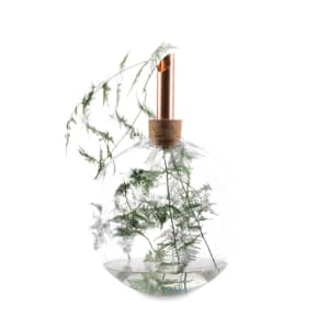 Scandinavia Form Glasilium Vase 56cm Kobber