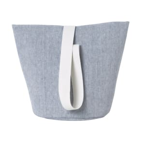 Ferm Living Chambray Kurv Medium Blå