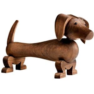 Kay Bojesen hund valnøtt