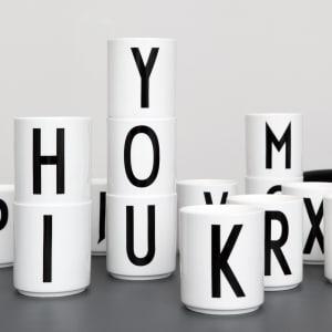 Design letters krus arne jacobsen A - Ø