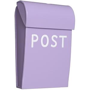 bruka design postkasse mini lilla