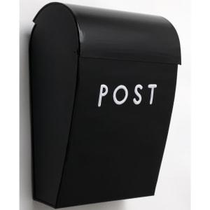 bruka design postkasse m/lås sort