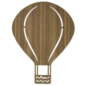 Ferm Living lampe Air balloon oak