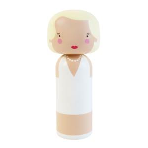 Sketchinc Marilyn kokeshi dukke