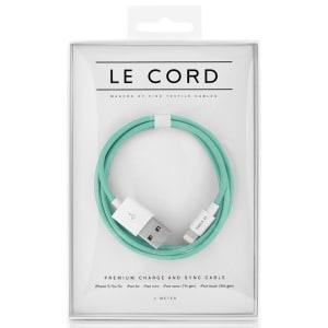 Le Cord ledning Solid robin mint