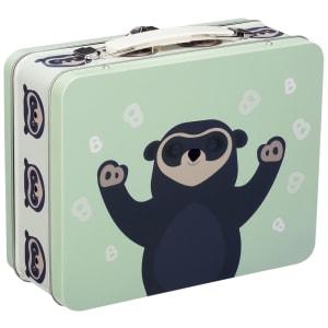 blafre brillebjørn koffertboks lys grønn