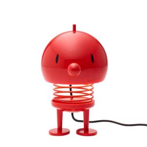 Hoptimist lampe rød