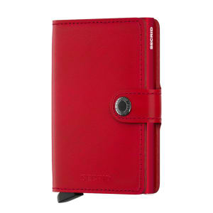 Secrid lommebok miniwallet red
