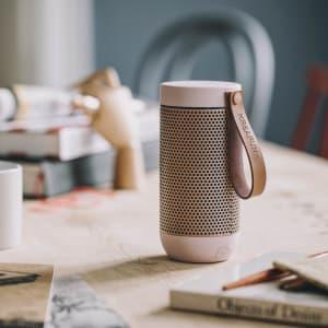 KREAFUNK aFUNK dusty pink w rose gold Bluethooth speaker