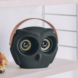 KREAFUNK aOWL Bluetooth Speaker Svart