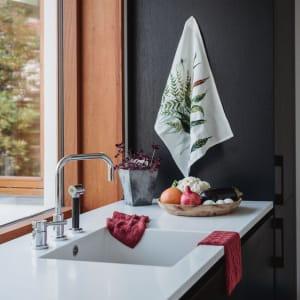 UND Kjøkkenhåndkle Bomull/Lin Bregne