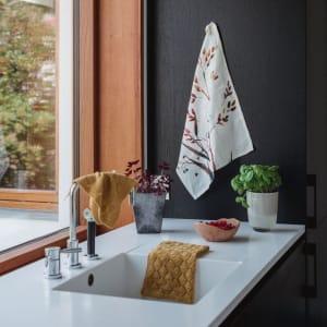 UND Kjøkkenhåndkle Bomull/Lin Strå