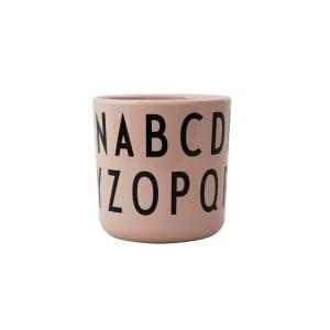 Design Letters Melaminkopp ABC Nude