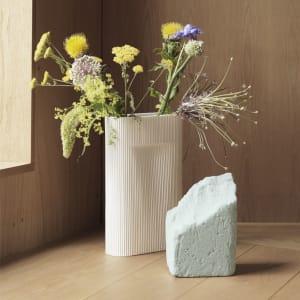 Muuto Ridge Vase Offwhite Liten