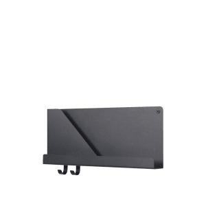 Muuto Hylle Folded Shelf Svart Liten