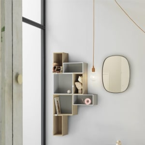 Muuto Lampe E27 Clay Brown