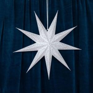 UND Adventstjerne Hvit 60cm