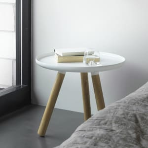 Normann Copenhagen Bord Tablo Small Hvit/Ask