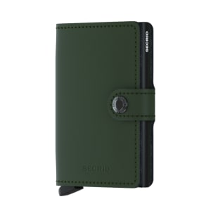 Secrid lommebok Miniwallet green black