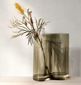 Menu Aer Vase 33cm Smoke
