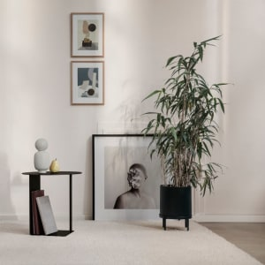 Ferm Living Blomsterpotte Bau Stor Sort