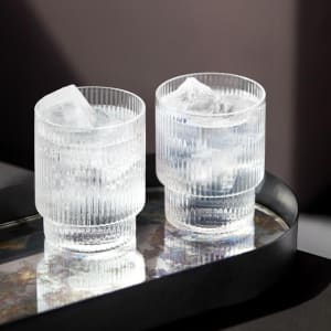 ferm living ripple glass 4/sett