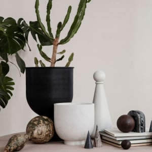 Ferm Living Hourglass Pot Small