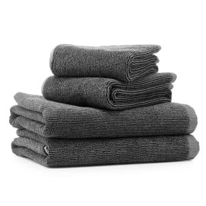 Vipp 104 bath towel black