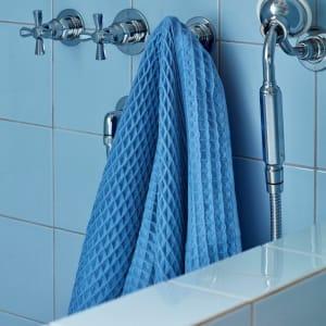 Hay Waffle Badehåndkle Blå