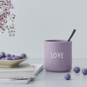Design Letters Kopp Favourite Cup Love Lavendel