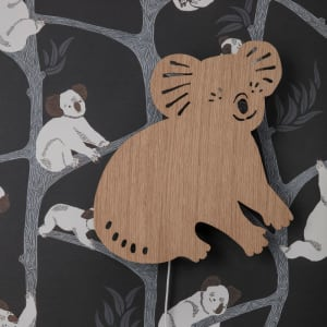Ferm Living Lampe Koala Smoked Oak