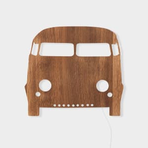 Ferm Living Lampe Bil Smoked Oak