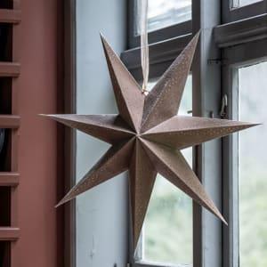 UND Adventstjerne Velur Beige 60 cm