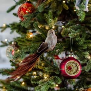 UND Julepynt Langstjert Beige