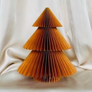 UND Hengepynt Juletre 15 cm Brun