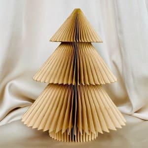 UND Hengepynt Juletre 15 cm Gull
