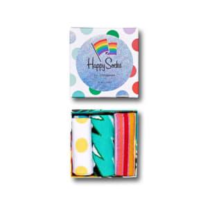 Happy Socks gaveeske 3pk Mixed Pride stor 41-46